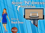 Shop N Dress Basket Ball Game: Beach Dress
