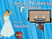 Shop N Dress Basket Ball Game: Flower Dress