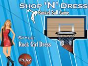 Shop N Dress Basket Ball Game: Rock Girl Dress