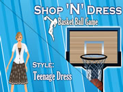 Shop N Dress Basket Ball Game: Teenage Dress