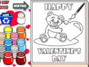 Valentines Day Coloring