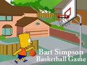 Bart Simpson Basketball Game