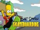 Bart Skateboarding