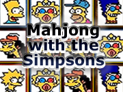 Mahjong with the Simpsons