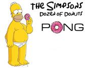 Simpsons Doughnut Pong