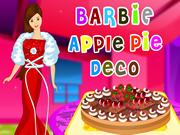 Barbie Pie Decoration