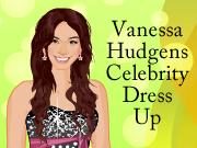 Vanessa Hudgens Celebrity Dress Up