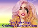 Cute Lady Gaga Celebrity Makeover Game