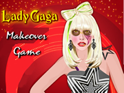 Lady Gaga Makeover Game