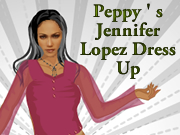 Peppy's Jennifer Lopez Dress Up