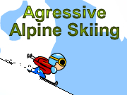 Agressive Alpine Skiing