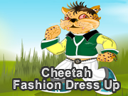 Cheetah Fashion Dress Up