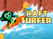 Chimpanzee Raft Surfer