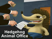 Hedgehog Animal Office