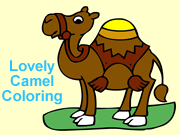 Lovely Camel Coloring