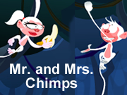 Mr. and Mrs. Chimpanzee