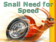 Snail Need for Speed