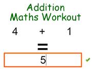 Addition Maths Workout