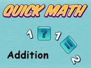 Addition Quick Math