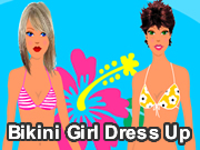 Bikini Girl Dress Up