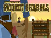 Cowboy Smokin Barrels