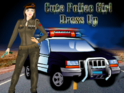 Cute Police Girl Dress Up