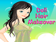 Doll Hair Makeover