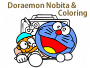 Doraemon Nobita and Coloring