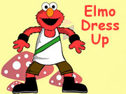 Elmo Dress Up