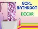 Girl Bathroom Decor