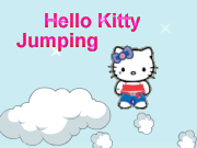 Hello Kitty Jumping