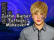 Justin Bieber Tattoos Makeover