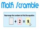 Math Scramble