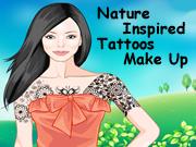 Nature Inspired Tattoos Make Up