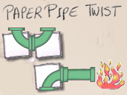 Paper Pipe Twist