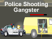 Police Shooting Gangster