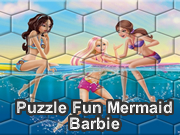 Puzzle Fun Mermaid Barbie