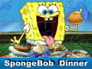 SpongeBob Dinner Jigsaw