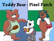 Teddy Bear - Pixel Patch