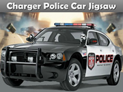 Charger Police Car Jigsaw