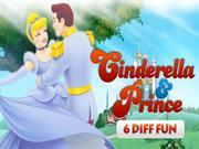 Cinderella & Prince 6 Diff Fun