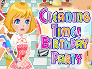 Cleaning Time! Birthday Party
