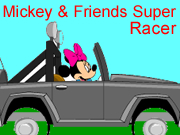 Mickey and Friends Super Racer