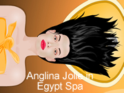 Anglina Jolie in Egypt Spa