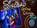 Sinbad Online Coloring