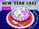 2012 New Year Cake Decoration