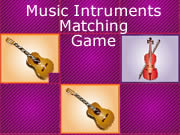 Music Intruments Matching Game
