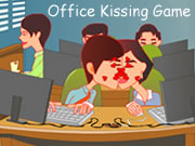 Office Kissing Game
