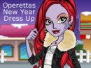 Operettas New Year Dress Up Game