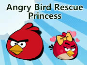 Angry Bird Rescue Princess